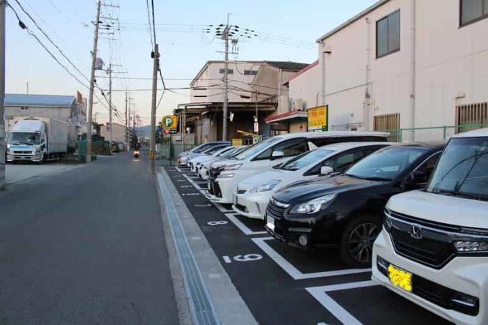 豊中原田中1丁目第2駐車場です。