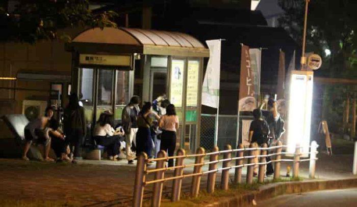 舞洲スポーツアイランドのバス停留所です。