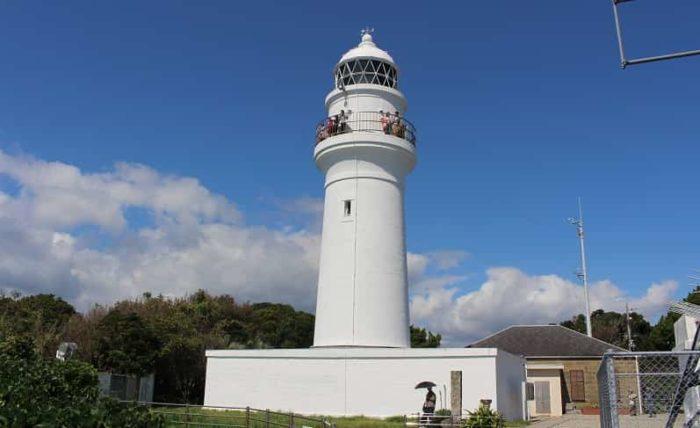 高さ22.51mの白亜の灯台です。