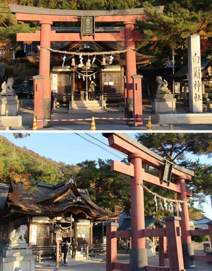 「白鬚神社」の本殿です。