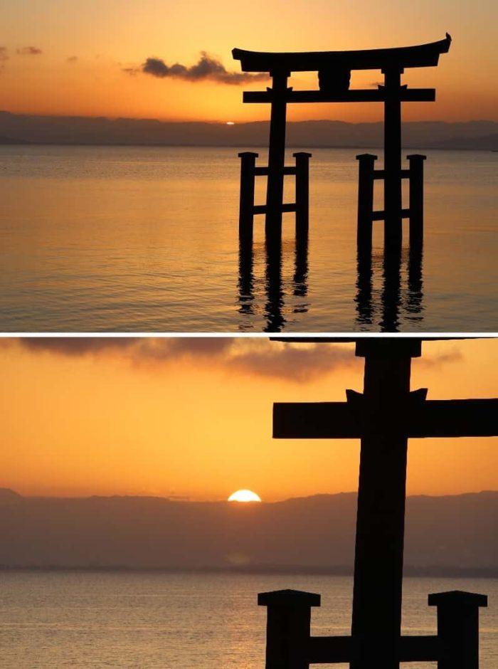 朝日が昇る瞬間は突然訪れます。