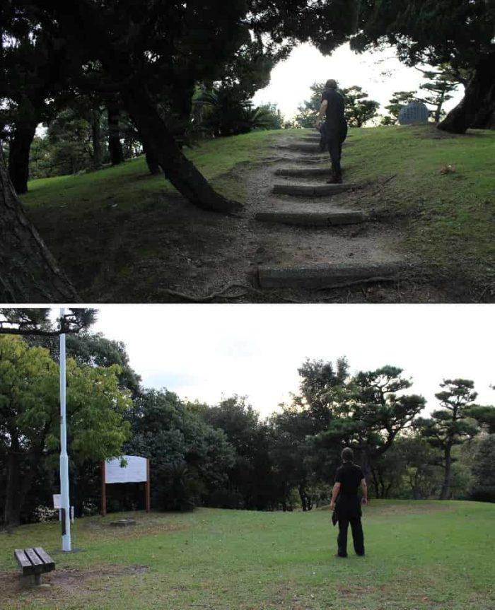 蘇鉄山の山頂に到着です。