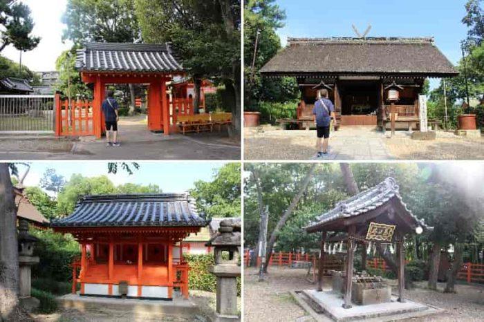 大海神社と志賀神社は共に海の神です。
