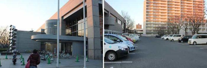 和歌山県立図書館文化情報センターです。
