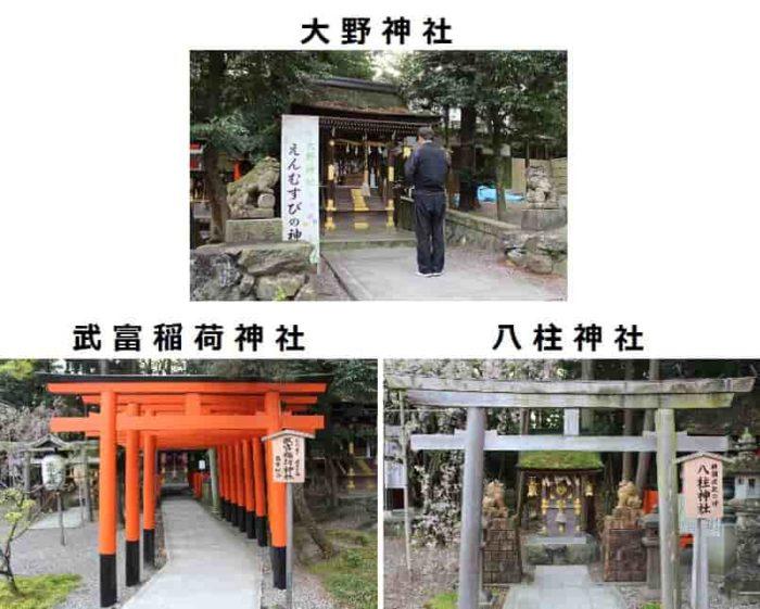 大野神社は縁結びのパワースポットです。