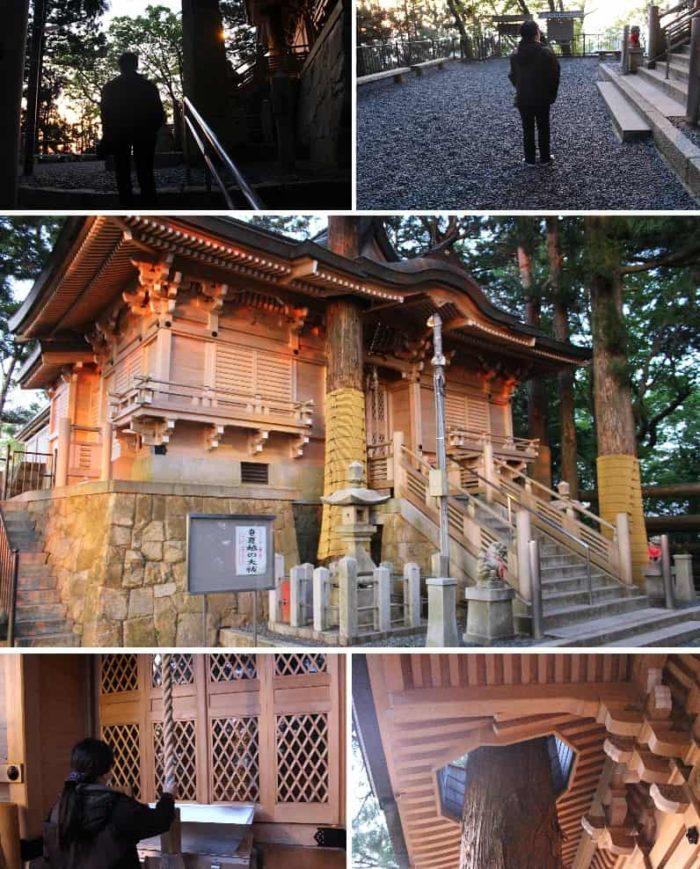 立里荒神社の本殿です。