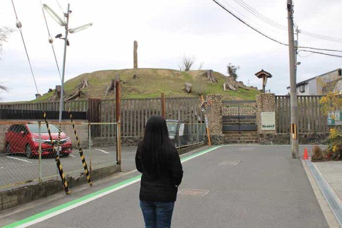 帝塚山古墳です。