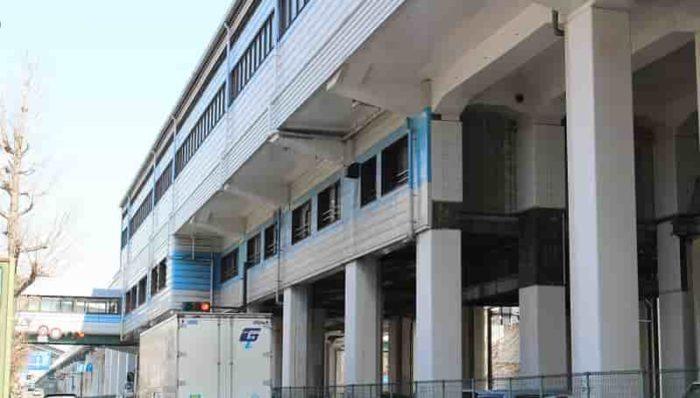 大阪メトロ中央線』の『大阪港駅』です。