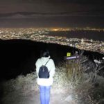 天狗岩より眺める阪神間の夜景です。