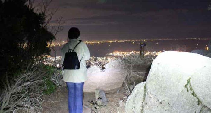 『天狗岩』の展望スペースです。