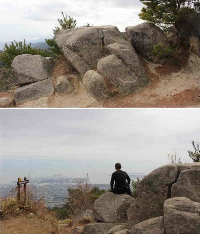 天狗岩と呼ばれる『巨石群』です。