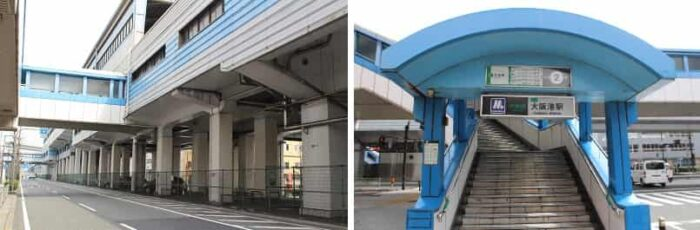大阪メトロ中央線の大阪港駅です。