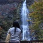 『滝見の場』から見た天滝です。
