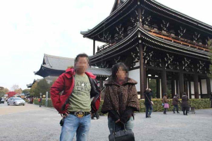 日本最古の禅寺の『三門』です。