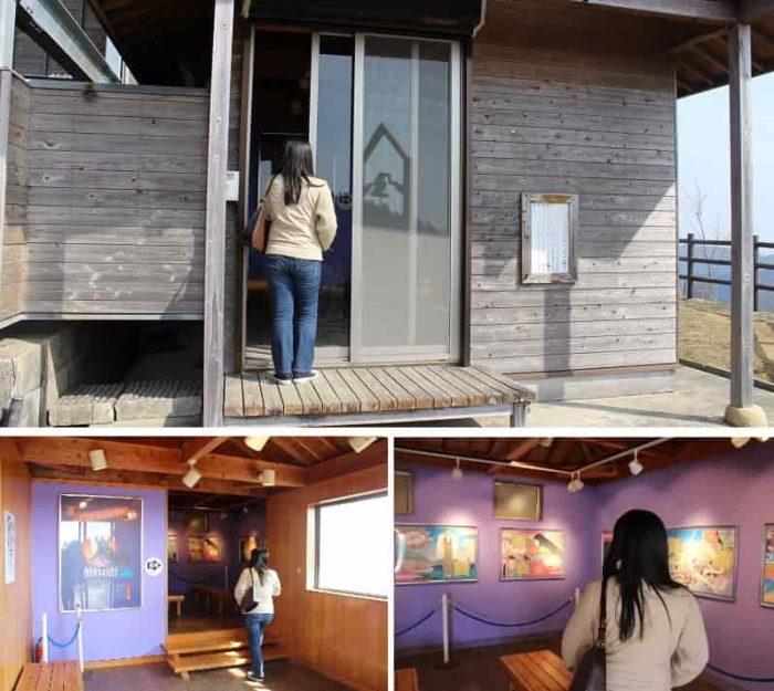 入場無料で見学できる「鶴姫の館」