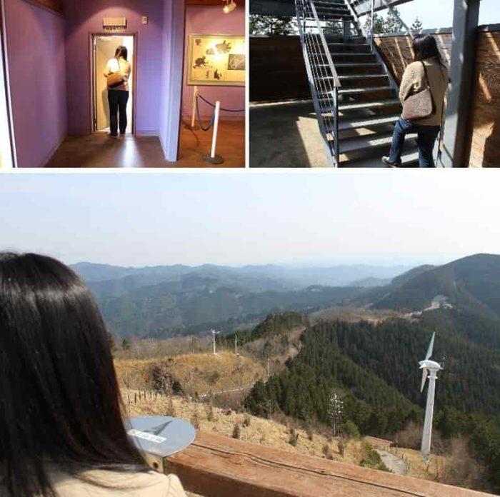 鶴姫公園展望台より望む景色です。