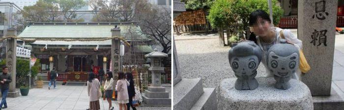 露天神社の本殿です。