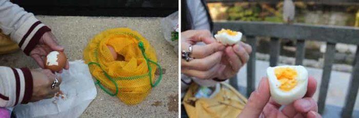 茹で過ぎて『ゆで卵』の状態です。